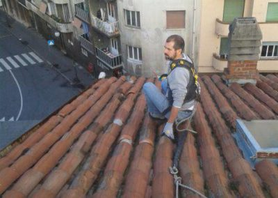 lavori tetto in alta quota_